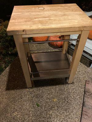Mobile IKEA cutting board for Sale in Beaverton, OR