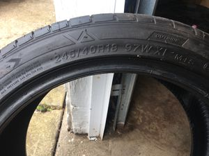 245/40r18 duraturn Mozzo tire for Sale in Cleveland, OH