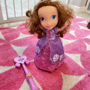 Sofia The First Magical Gliding Dancing Doll for Sale in Ladera Ranch, CA