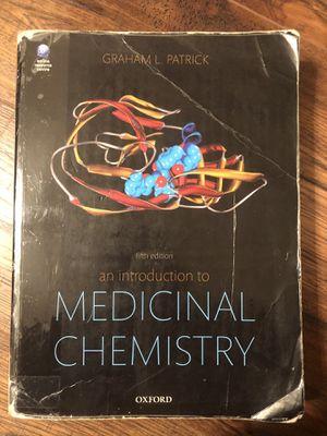 Medicinal Chemistry Book - Graham L. Patrick for Sale in Chandler, AZ