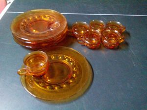 Vintage Amber Depression Glass Collection for Sale in Fort Worth, TX