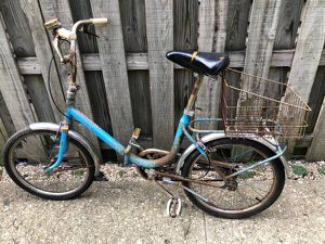 Vintage folding bike for Sale in Chicago, IL