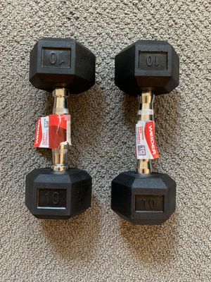 10 POUND WEIGHTS - Brand new for Sale in Cicero, IL
