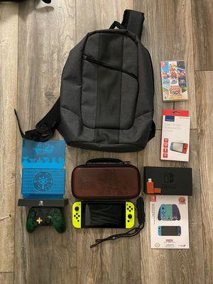 Nintendo switch 32GB Console bundle with super Mario for Sale in Miami, FL