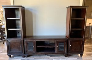4 Piece Solid Wood Entertainment Center for Sale in Social Circle, GA