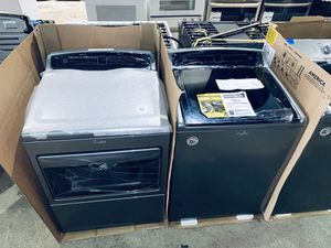 New Whirlpool washer and dryer 🎊take it home today only for 5$ down🎊 for Sale in Houston, TX