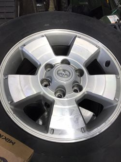 05 Up Toyota Tacoma 4Runner Trd Wheels In Great Shape for Sale in Ravensdale,  WA