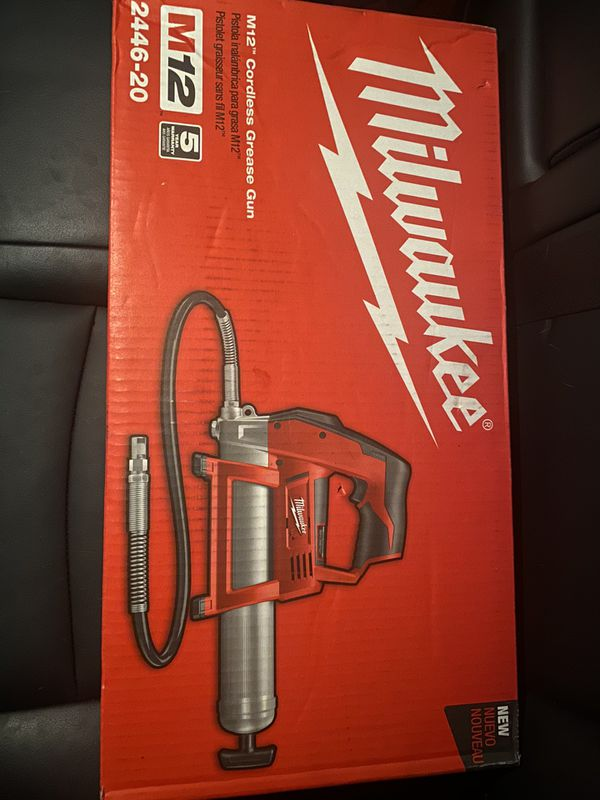 Milwaukee grease gun m12 tool only