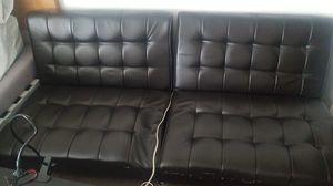 Leather Futon for Sale in Lakewood, WA