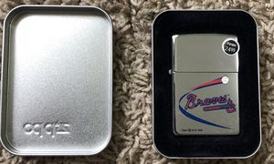 Braves Zippo for Sale in Clinton Township, MI
