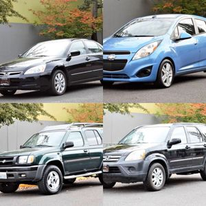 Honda CR-V accord Nissan Xterra chevy Spark for Sale in Portland, OR