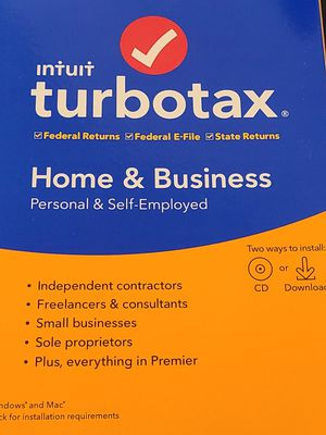 Turbotax 2019 Home and business for Sale in Renton, WA