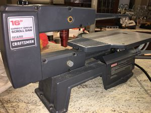 """Scroll Saw Sears Craftsman 16"""" Direct Drive for Sale in Crofton, MD"""
