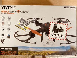 New Drone Vivitar 360 Skyview video drone 1080 P HD for Sale in Tampa, FL