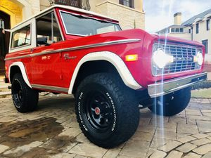 1977 Vintage Ford Bronco Restored w/ new interior +AC + fuel injection for Sale for sale  Atlanta, GA