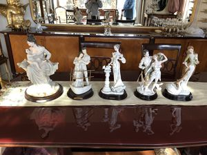 Collection of 5 Valentino statues. for Sale in Staten Island, NY