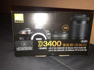 Nikon D3400 for Sale in Riverside, CA