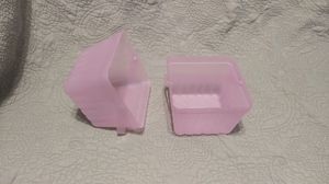Pink Plastic Glittery Baskets for Sale in Knightdale, NC