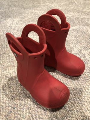 Croc boots size c 9 for Sale in Tigard, OR