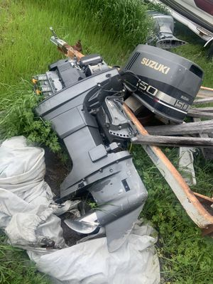 2000 Suzuki EFI outboard engine for parts for Sale in Burleson, TX