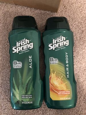 2 Irish Spring body washes for Sale in Silver Spring, MD