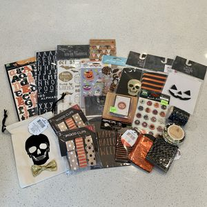 Halloween crafting lot for Sale in Puyallup, WA