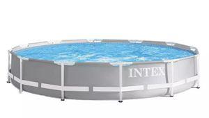 NEW SEALED Intex Prism Metal Frame 12ft Pool for Sale in Los Alamitos, CA