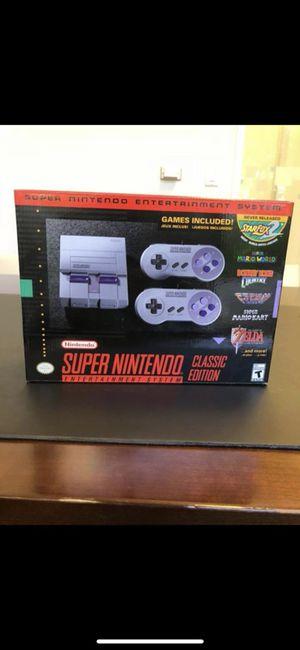 Brand New Super Nintendo SNES Mini for Sale in Los Angeles, CA