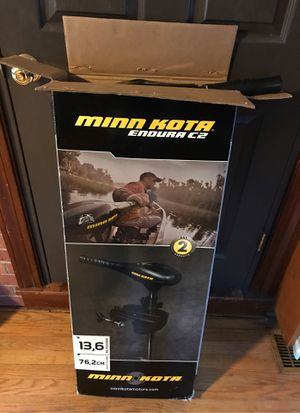 Minn Kota Endura C2 30lb for Sale in Winston-Salem, NC