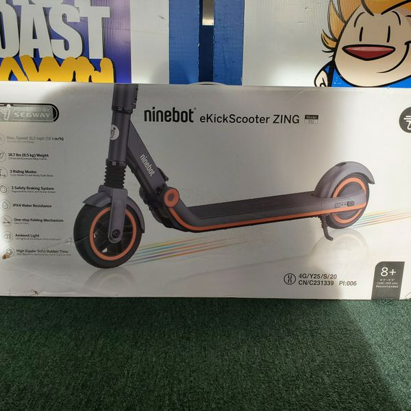 Segway (E12) Ninebot eKickScooter Zing