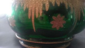 Stunning Antique Green Glass Collectable for Sale in Wilder, KY