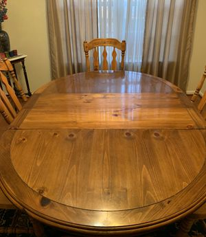 Solid Cherry Wood Dining Set for Sale in West Springfield, VA