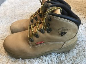Men's size 7 work boots. Very good condition, worn twice. $25.00 for Sale in Salt Lake City, UT