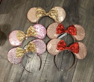 Minnie Mouse ears $10 each for Sale in San Diego, CA