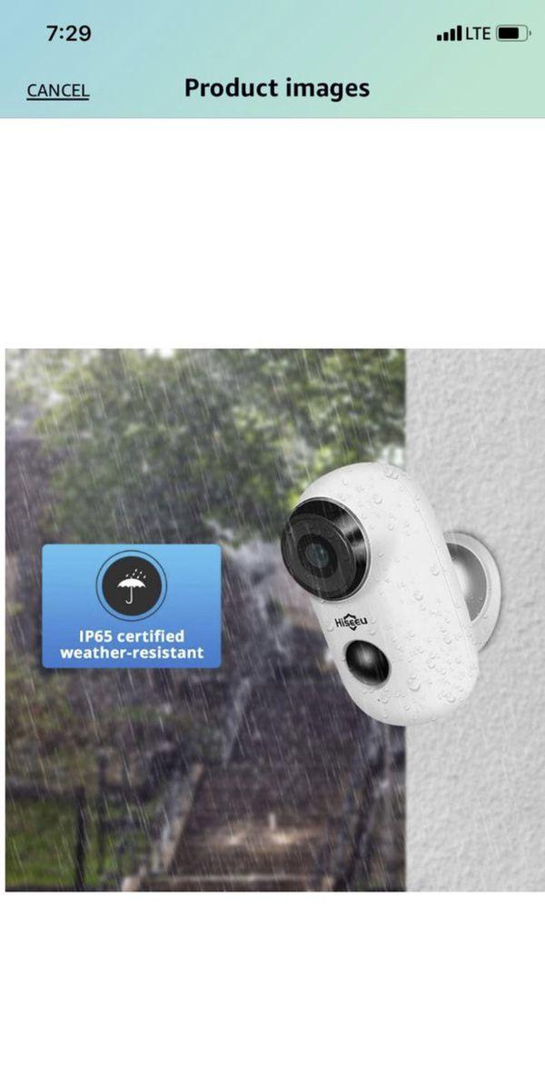 Home Security Camera,Wireless Rechargeable Battery Powered WiFi Camera,Night Vision, Indoor/Outdoor, 1080P Video with Motion Detection, 2-Way