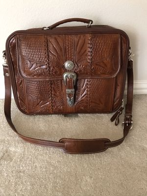 Leather Laptop Briefcase for Sale in Arlington, TX