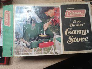 Vintage coleman camp stove for Sale in Denver, CO
