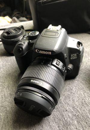 Canon EOS 650D + Lenses **Bundle** for Sale in San Marcos, TX