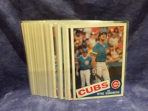 1985 Topps Super Baseball Cards, Lot Of 51 Cards for Sale in Diamond Bar, CA