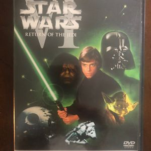 STAR WARS DVD RETURN OF THE JEDI for Sale in Kirkland, WA