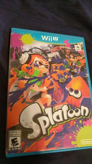 Nintendo Wii u Splatoon for Sale in Sacramento, CA