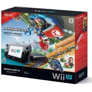 Nintendo Wii U Mario Kart Deluxe Set With Pre Installed Games for Sale in Flint, MI