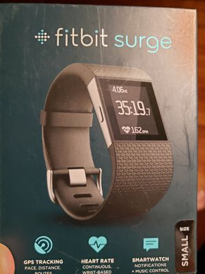 Fitbit Surge...never worn; open box for Sale in Newington, CT