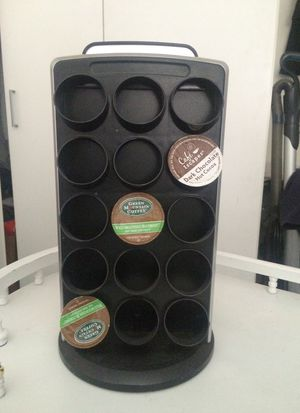 KEURIG 30 count coffee pod holder. 15 on each side swivels. for Sale in Downey, CA