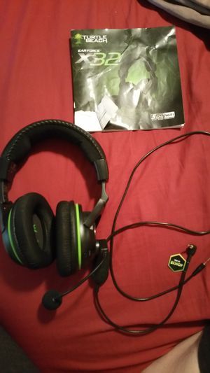 Turtle Beach Ear force X32 Gaming Headset for Sale in Smyrna, TN