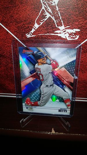 2018 Topps Bowmans Best Baseball! Hot Mookie Betts ' Refractor' Card! for Sale in La Puente, CA