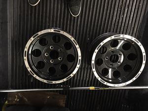 16 inch rims and tires for Sale in Sudley Springs, VA