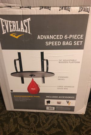 everlast advanced 6 piece speed bag set for Sale in West Chicago, IL