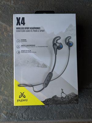 Jaybird - X4 Wireless Headphones - Brand-New. for Sale in Aurora, IL