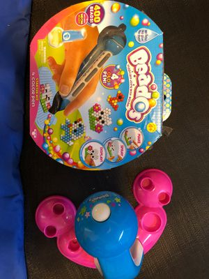 Beado Pen Set & Shopkins Beado Design Station for Sale in Austin, TX